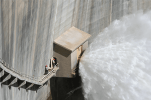 Controlled transfer of water from Loveland Reservoir