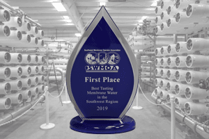 2019 SWMOA Best Tasting Water Award