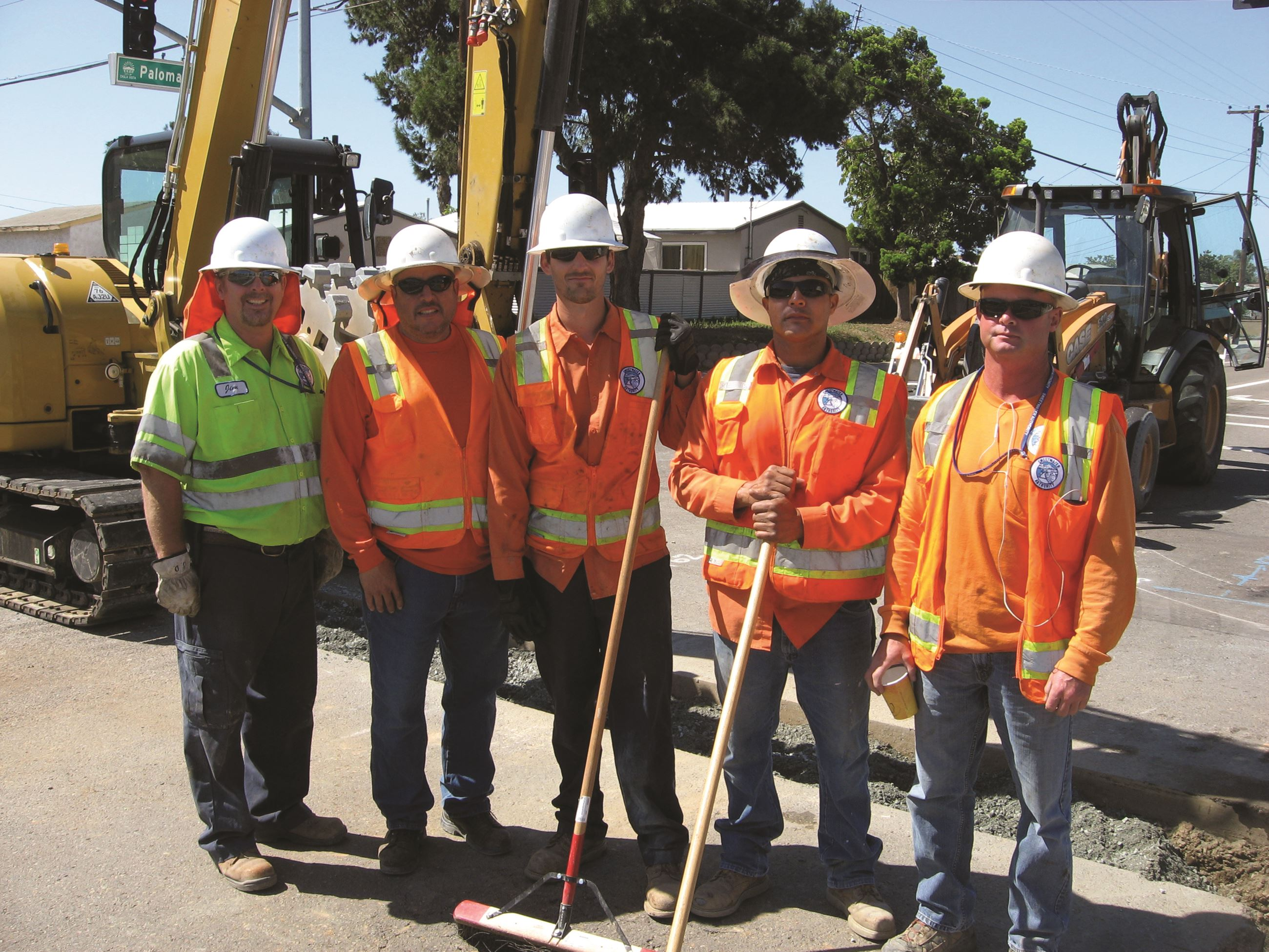 Distribution crews group shot
