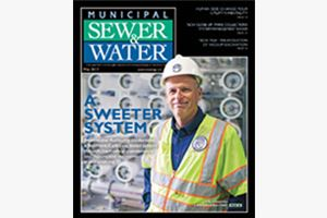 Municipal Sewer and Water Magazine Cover