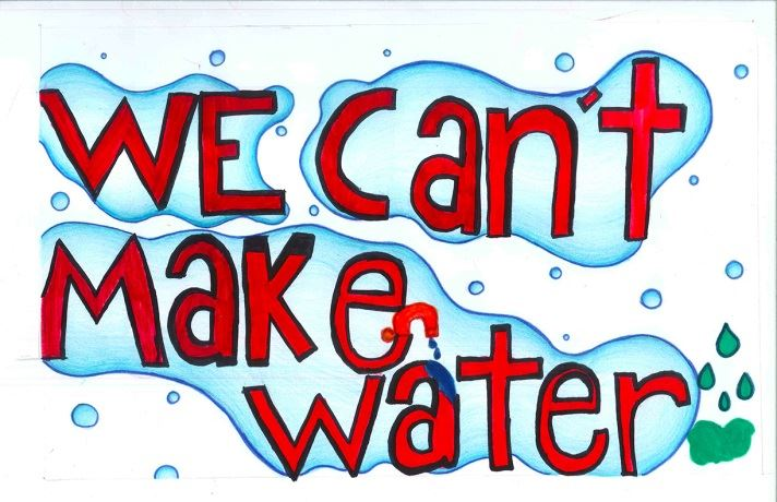 We can't make water